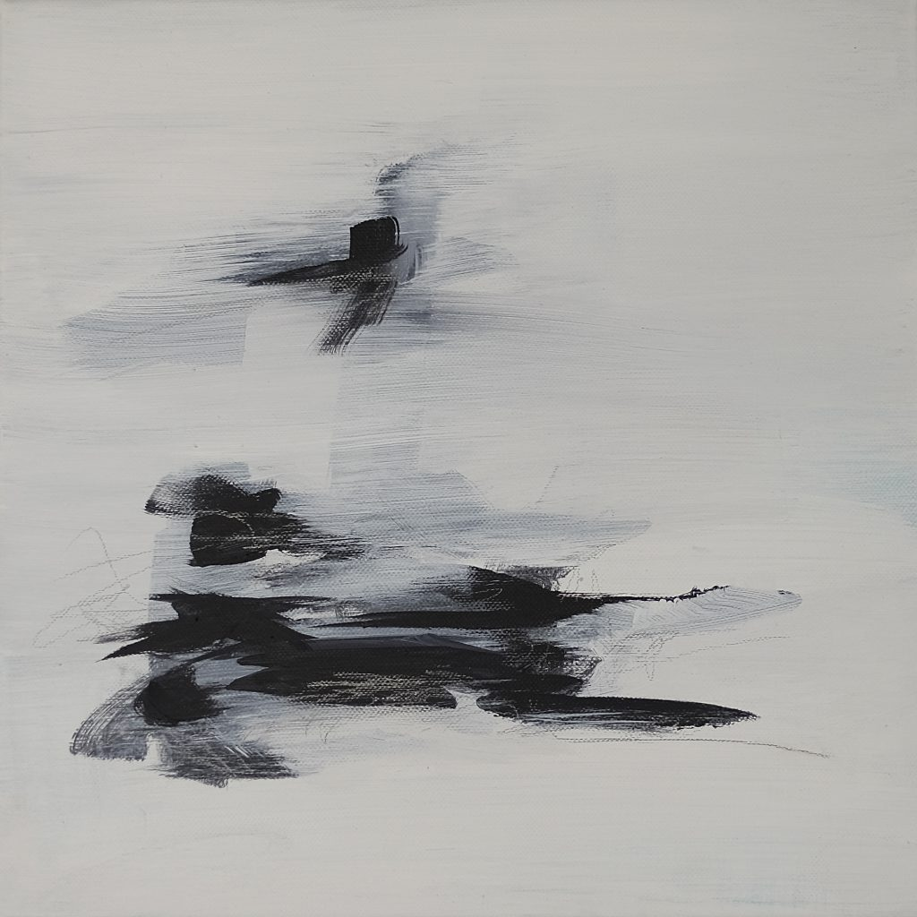 Acrylics on canvas 30x30cm